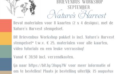Nature's Harvest Brievenbus Workshop September '21