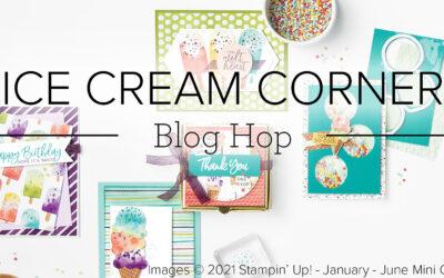Ice Cream Corner Blog Hop