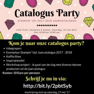 Catalogus Party @ Café Tivoli | Nispen | Noord-Brabant | Nederland