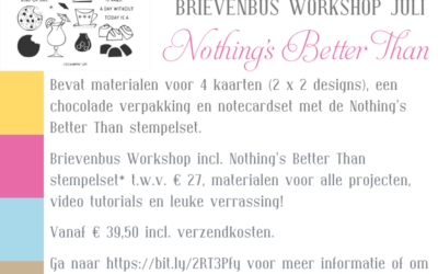 Nothing's Better Than Brievenbus Workshop Juli '21