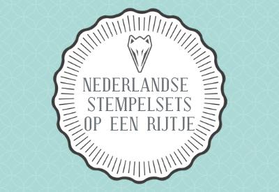 Nieuwe Nederlandse stempelsets!