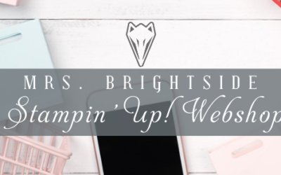 Mijn Stampin' Up! Webshop!