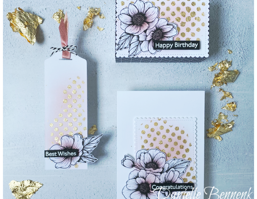 Gilded Leafing – Stamping Sunday