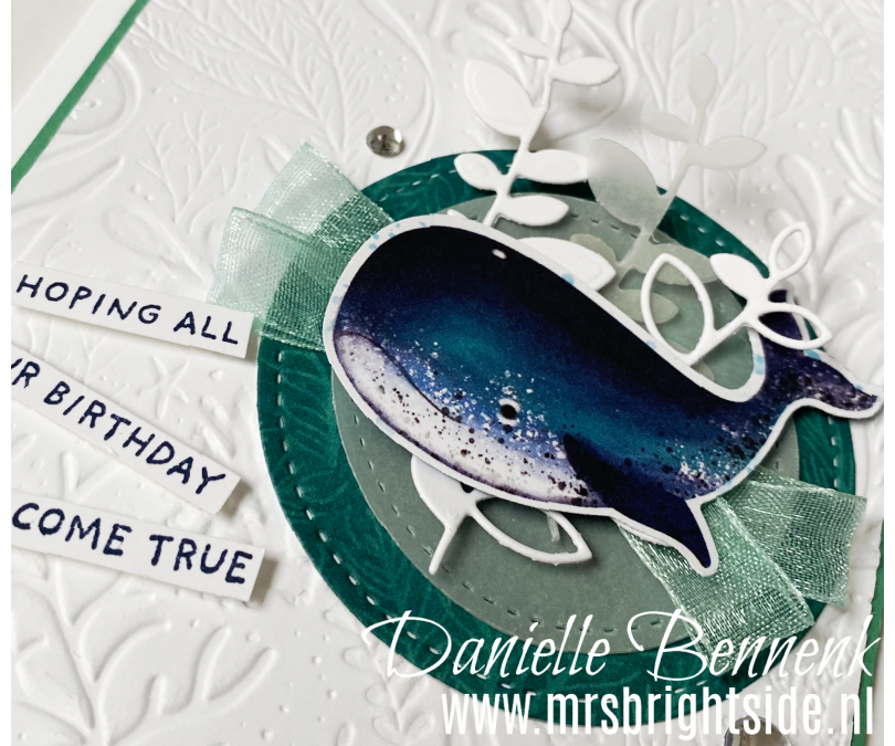 Whale Of A Time – Stempel, Inkt & Papier