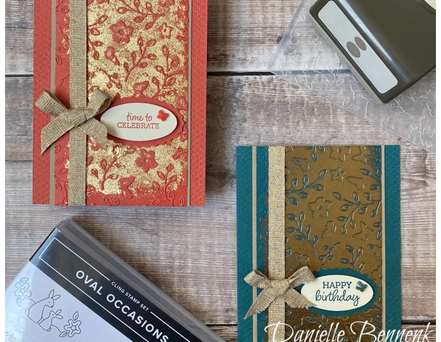 Embossing Folder – Stempel, Inkt & Papier