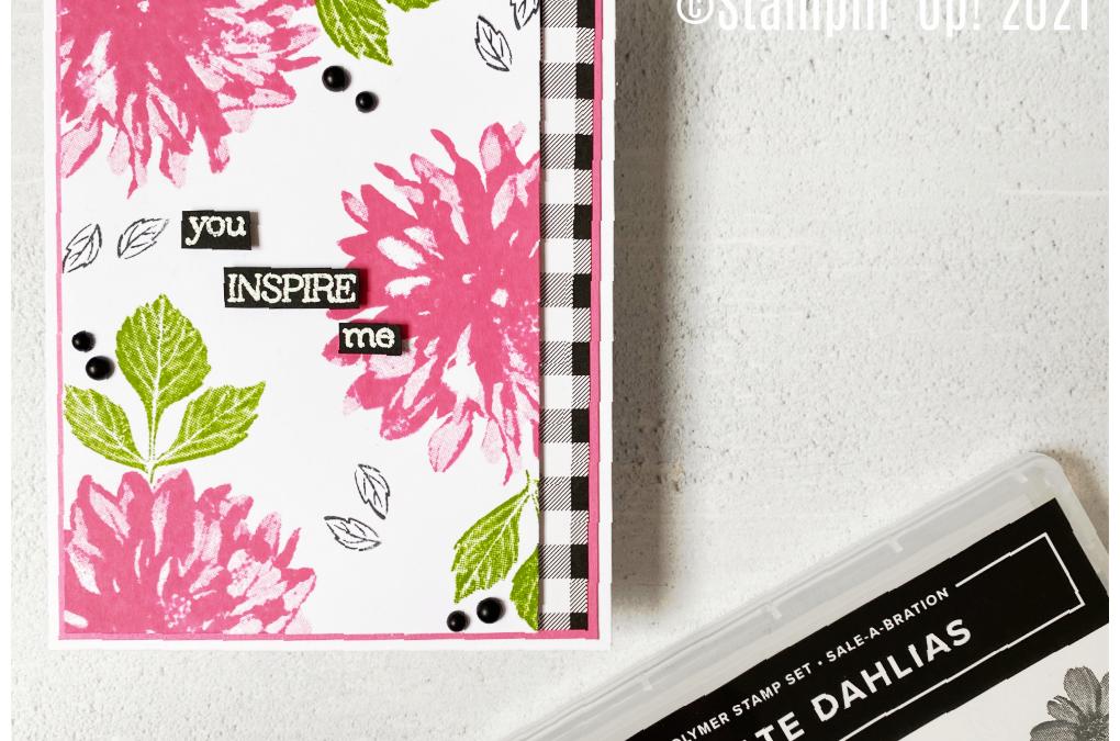 Delicate Dahlias – Stampin' Creative Bloghop