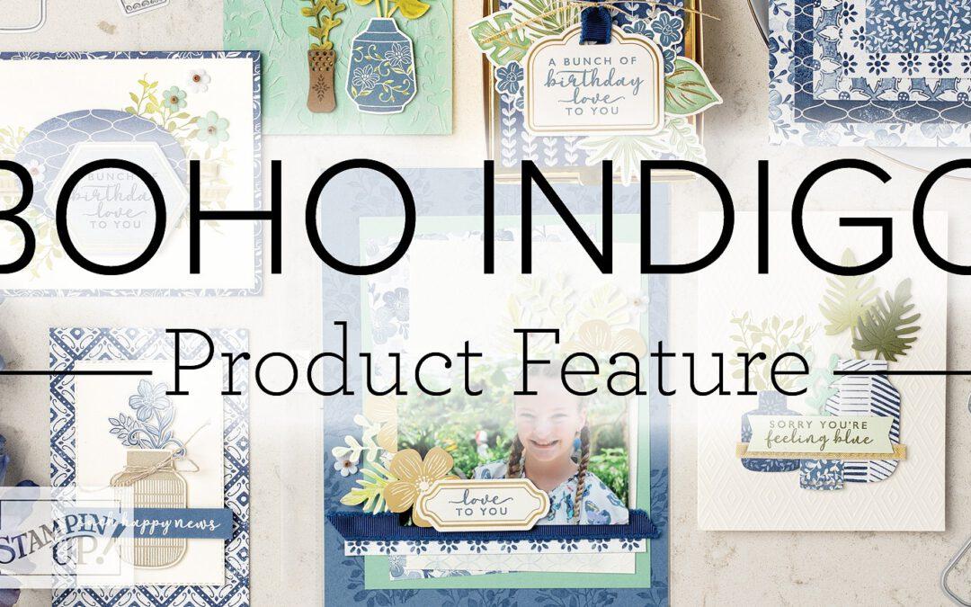 Boho Indigo Product Medley