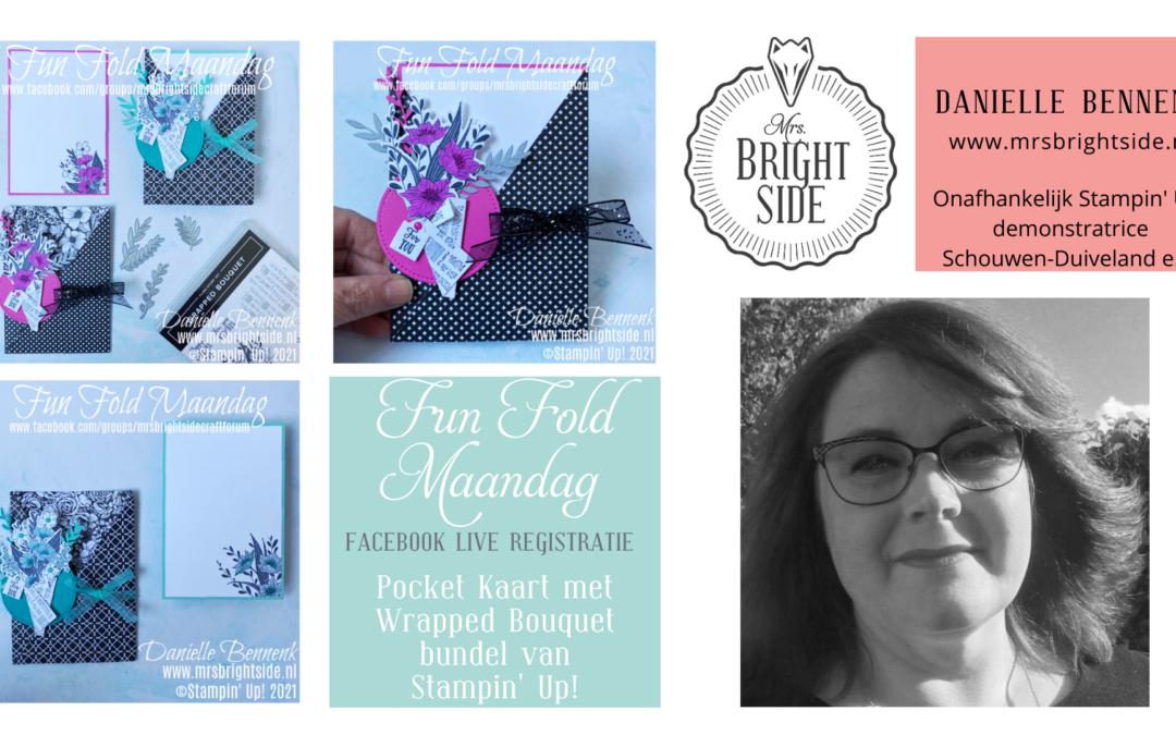 Wrapped Bouquet Pocket – Creatief Live Registratie
