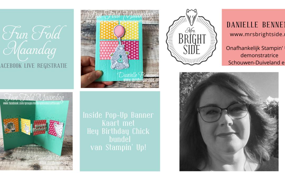 Hey Birthday Chick – Creatief Live Registratie