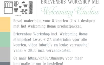 Mrs. Brightside Brievenbus Workshop Mei